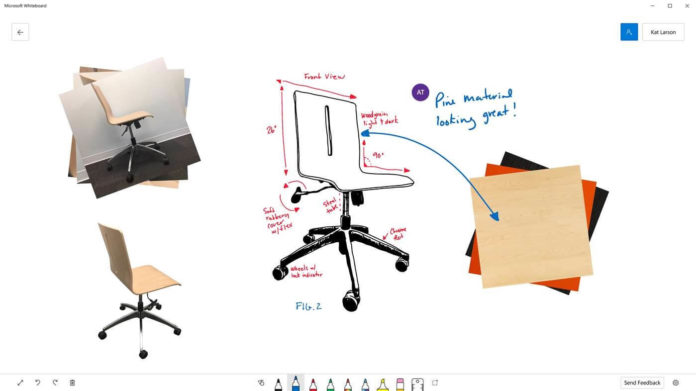 Microsoft Whiteboard for Windows 10