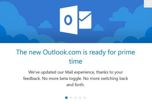 New Outlook experience