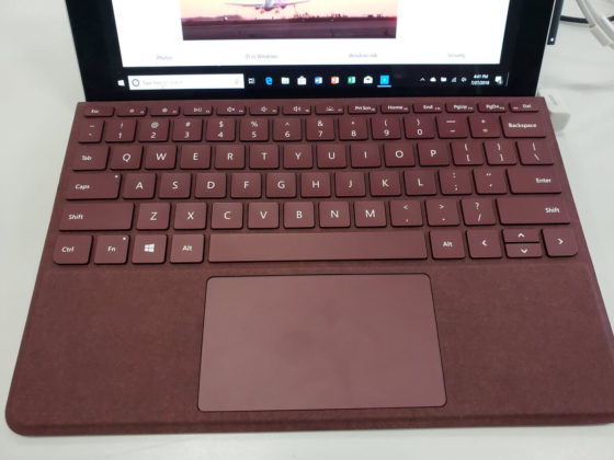 Surface Go keyboard cover