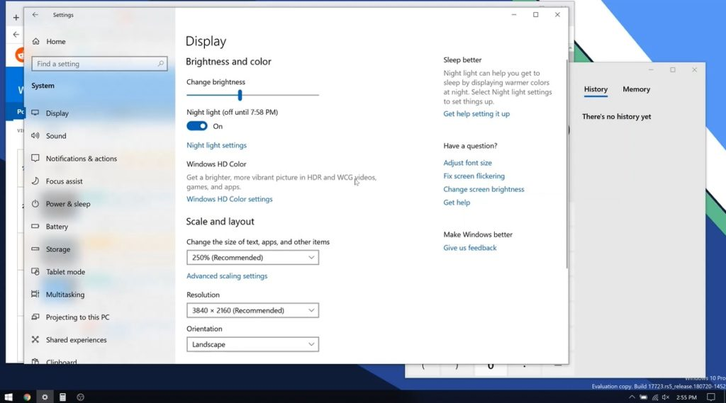 Apps window can now now retain their sizes in Windows 10