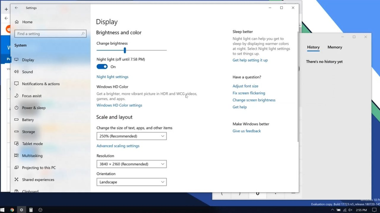 Apps window can now now retain their sizes in Windows 10 after