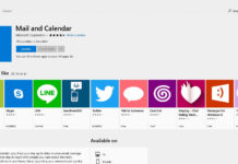 Windows 10 Mail and Calendar app