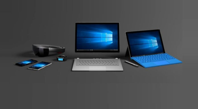 Windows 10 device