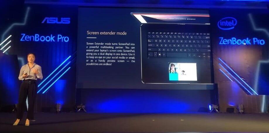 Asus ZenBook Pro India