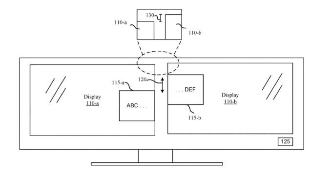 Multi display patent