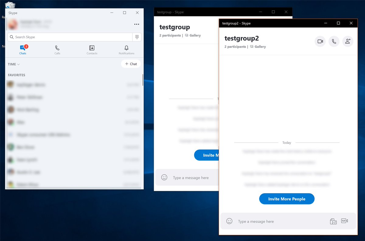 Microsoft reveals whats next for skype on windows after criticism skype split view stopboris Gallery