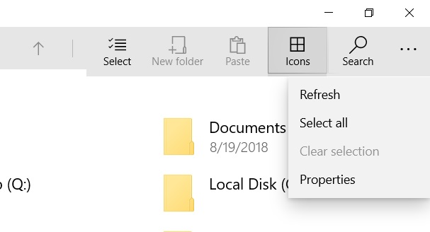 UWP File Explorer with Fluent Design