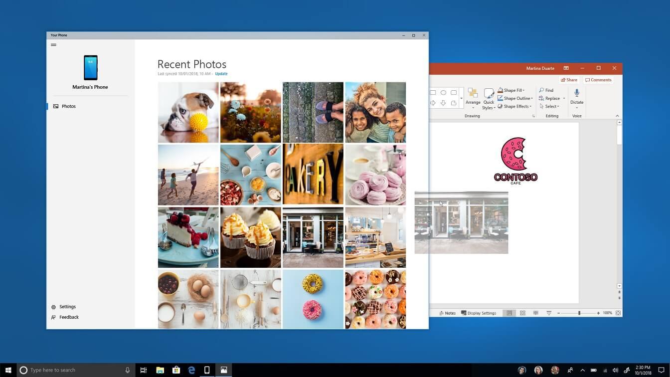 microsoft u0026 39 s your phone app for windows 10 is finally