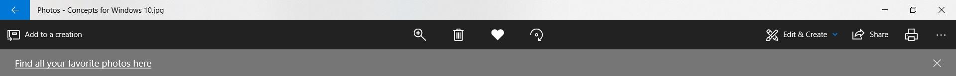 favorite feature