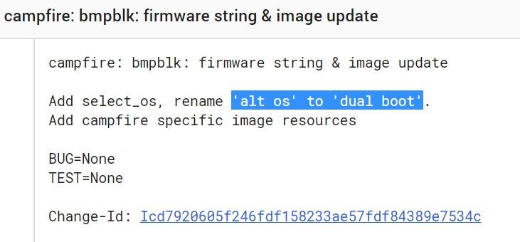Chrome dual boot AltOS
