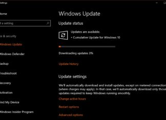 Cumulative update for Windows 10
