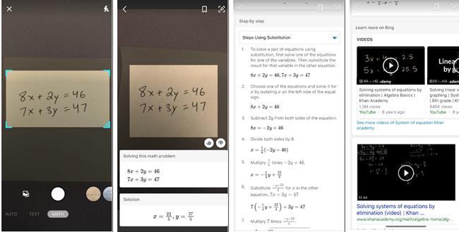 Math in Bing