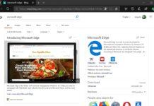 Microsoft Edge on Windows 10