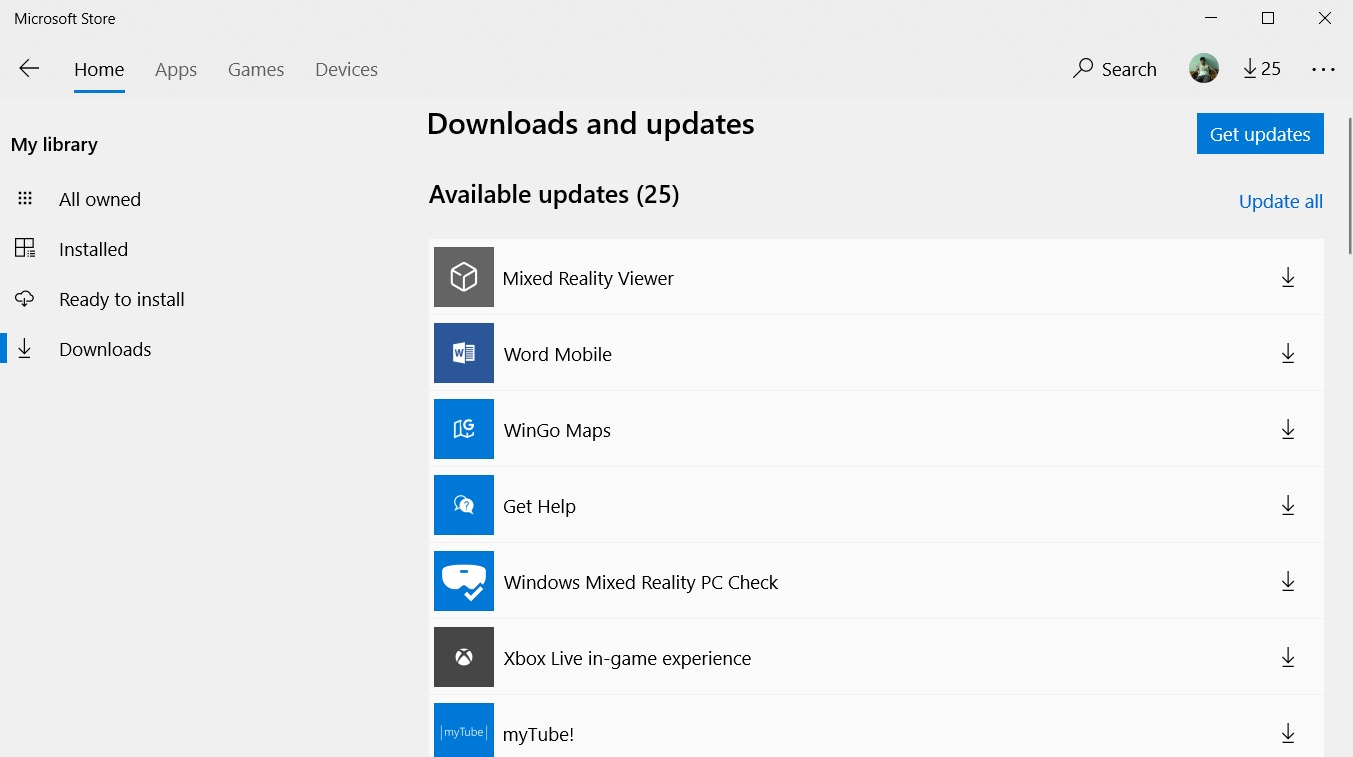 Microsoft is deploying a fix to address Windows 10 app store