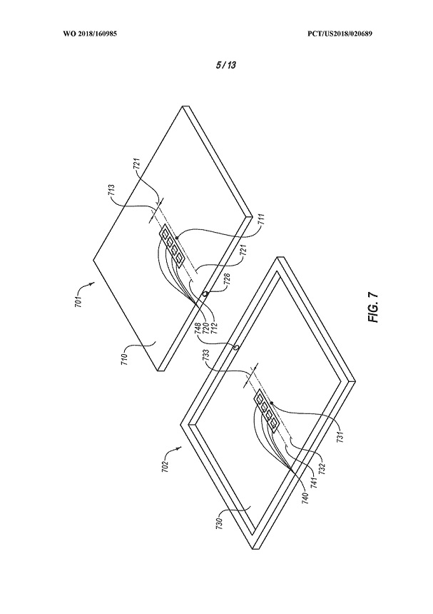Microsoft handheld device patent