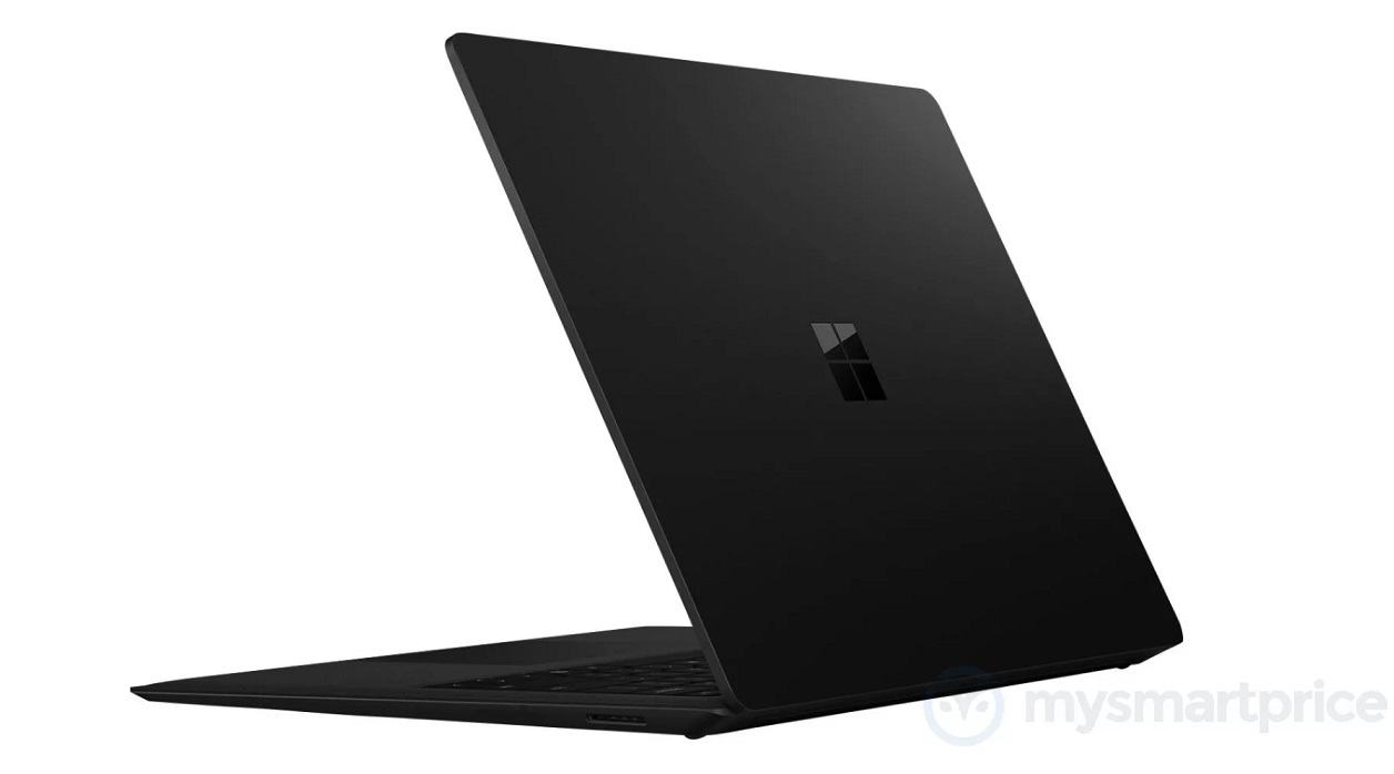 Surface Laptop with black color