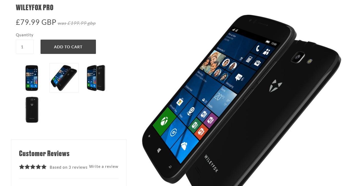Wileyfox Windows Phone