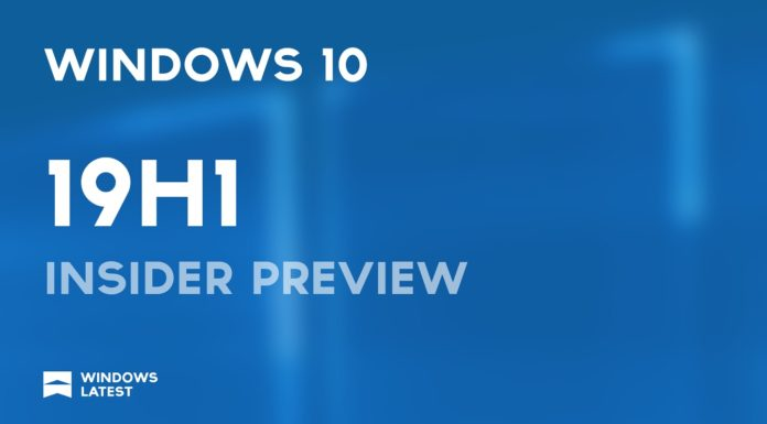 Windows 10 19H1
