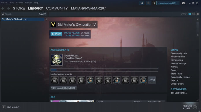 Windows 10 on Steam