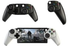 Controller for mobile