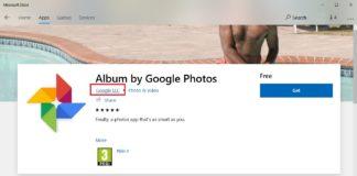 Google app for Windows 10