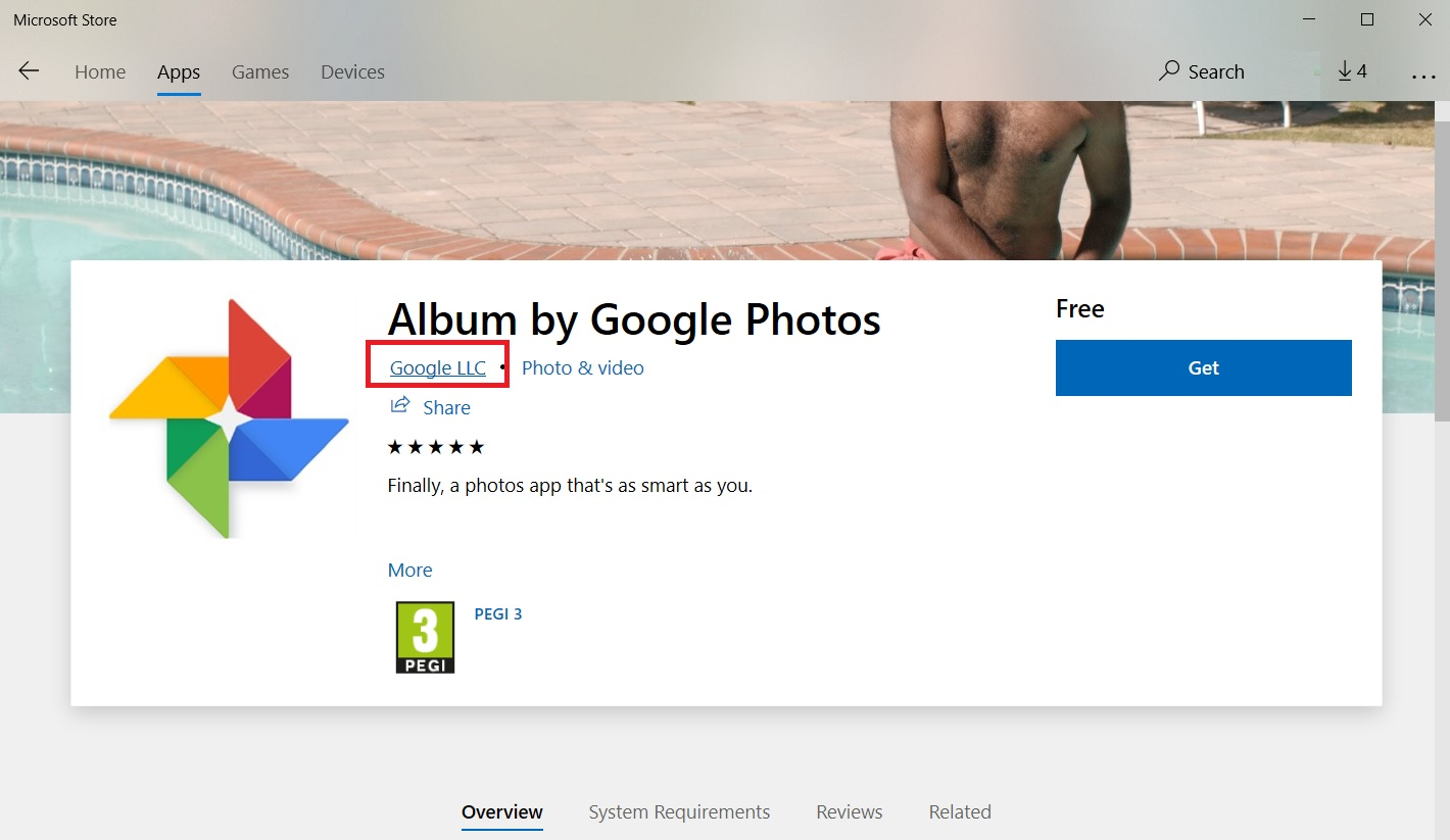 Microsoft Removes Fake Google Photos App For Windows 10 From Store