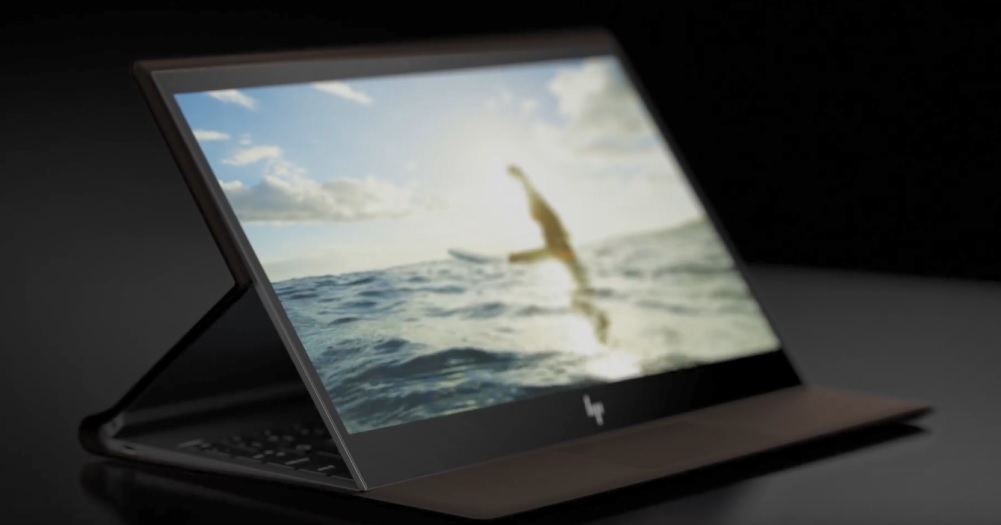 HP Spectre Folio design