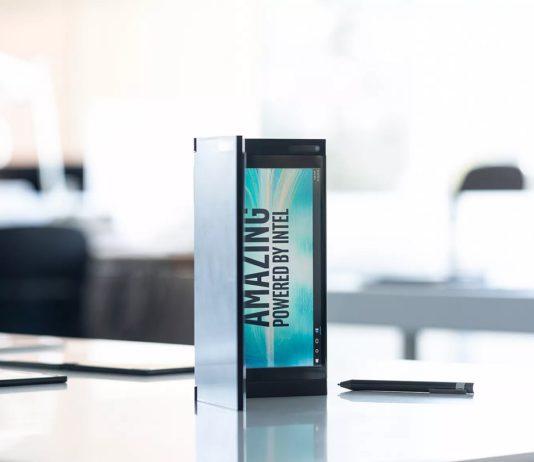 Intel dual screen device