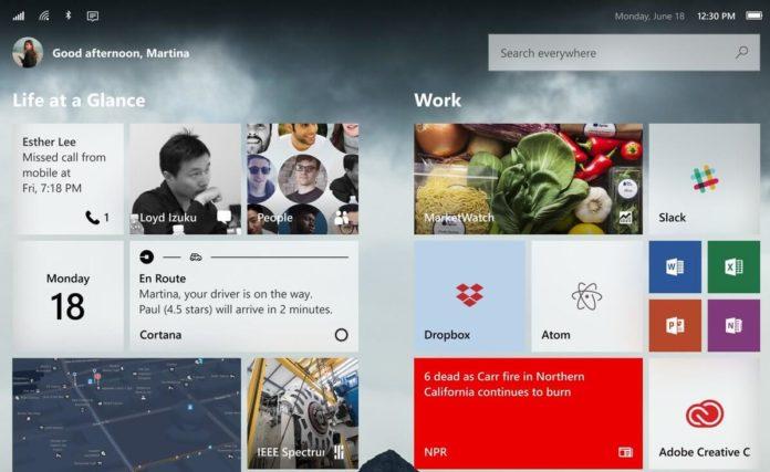 Modular Windows 10 concept