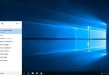 Search in Windows 10