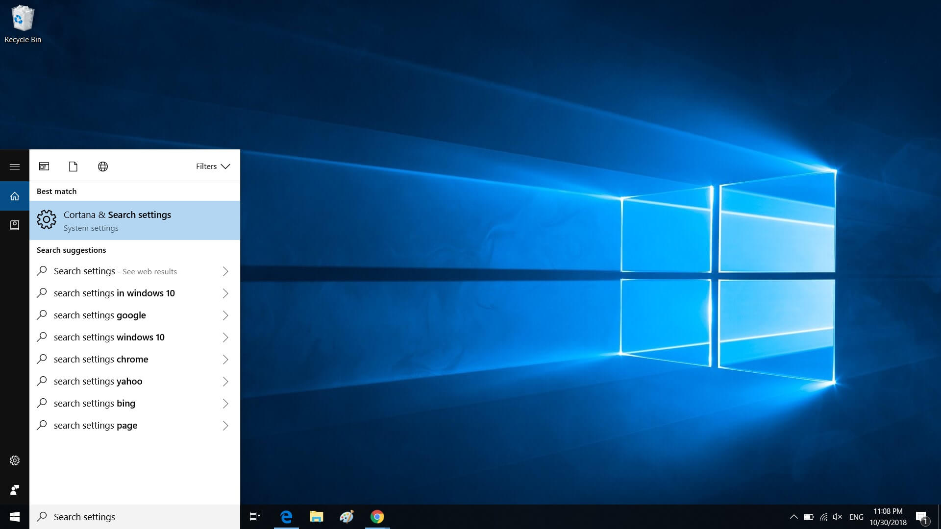Windows 10 update breaks Search and VMware Workstation