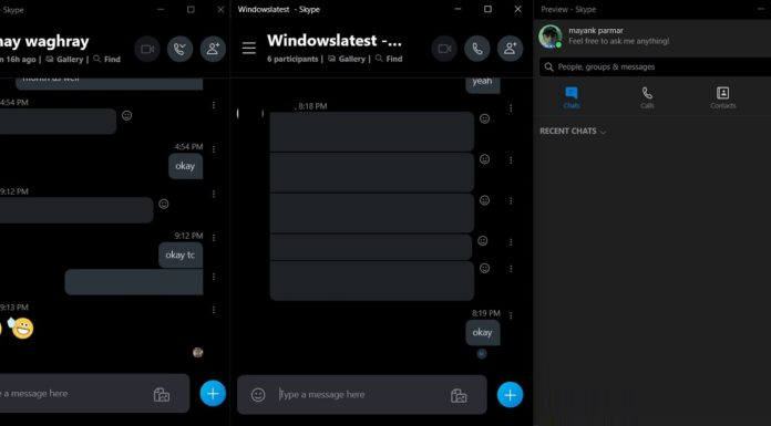 Skype for Windows 10