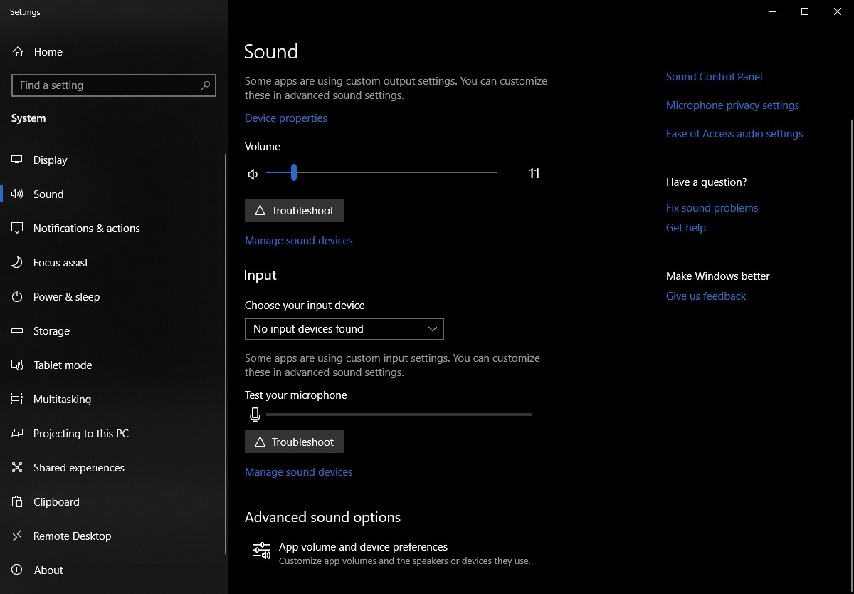 windows update audio crackle