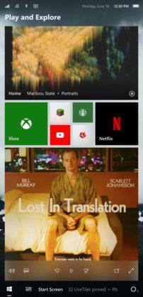 Windows 10 Mobile concept