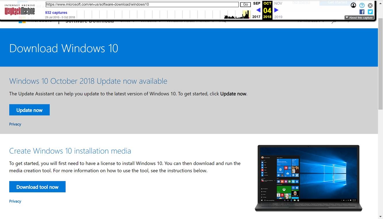 Windows 10 October 2018 Update pulled
