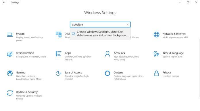 Windows Spotlight