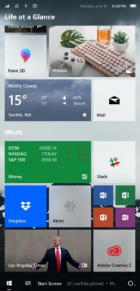 Windows on mobile concept 2