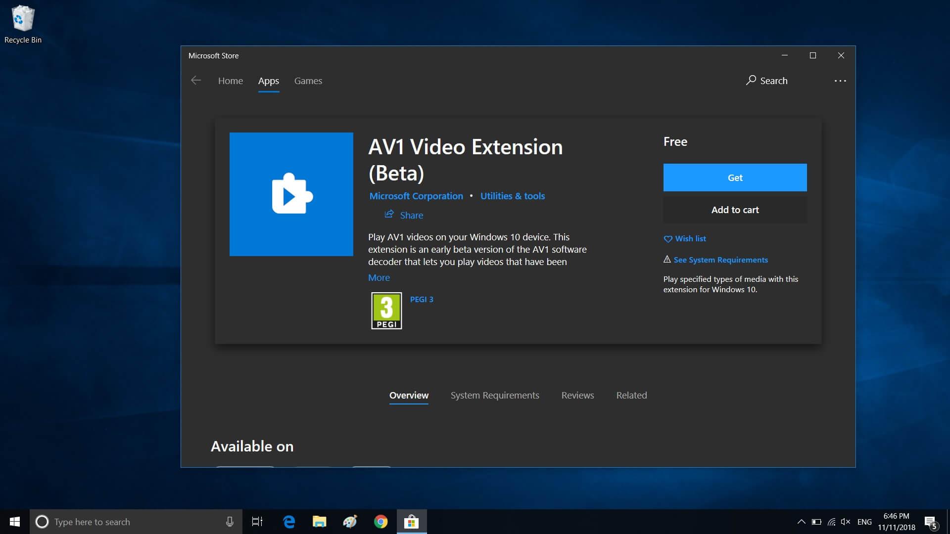 Microsoft brings AV1 Video Codec support to Windows 10