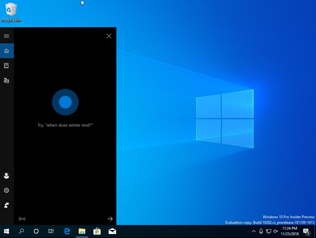 Cortana new look