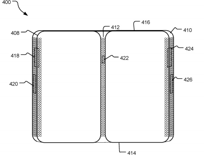 Foldable phone patent