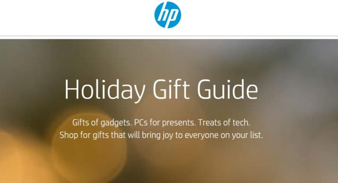 HP Gift Guide