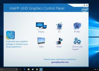 Intel update for Windows 10