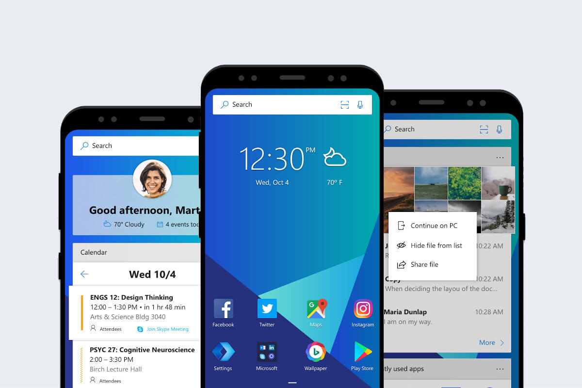 Microsoft Launcher for Android snags a big update with tons of new