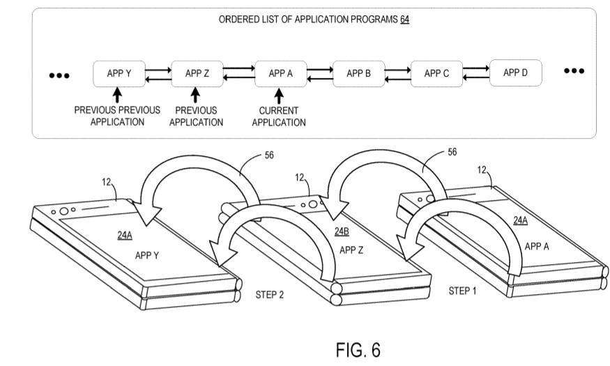 Microsoft dual screen patent