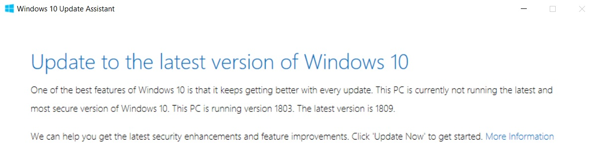 How to download and install the Windows 10 October 2018 Update