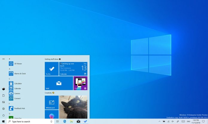 Windows 10 Light Theme