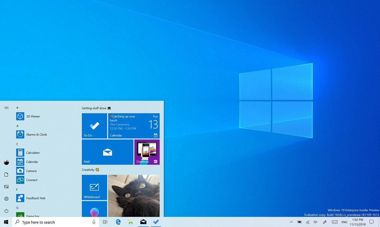 desktop search windows 10 app