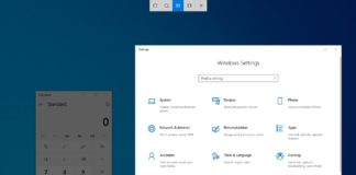 Windows 10 Snipping Window