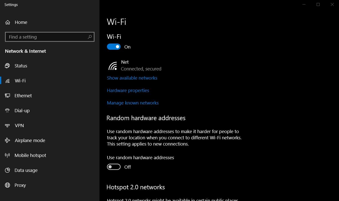 Microsoft acknowledges that Windows 10 has a internet problem