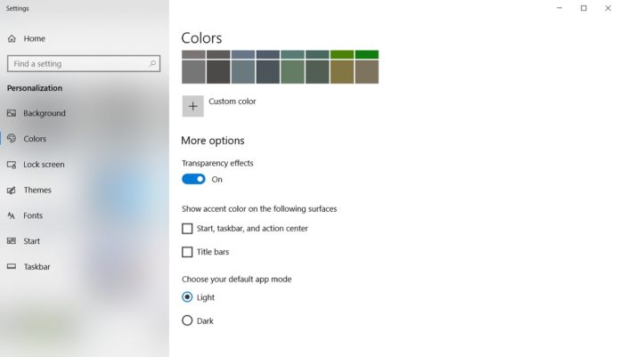 Windows 10 customization